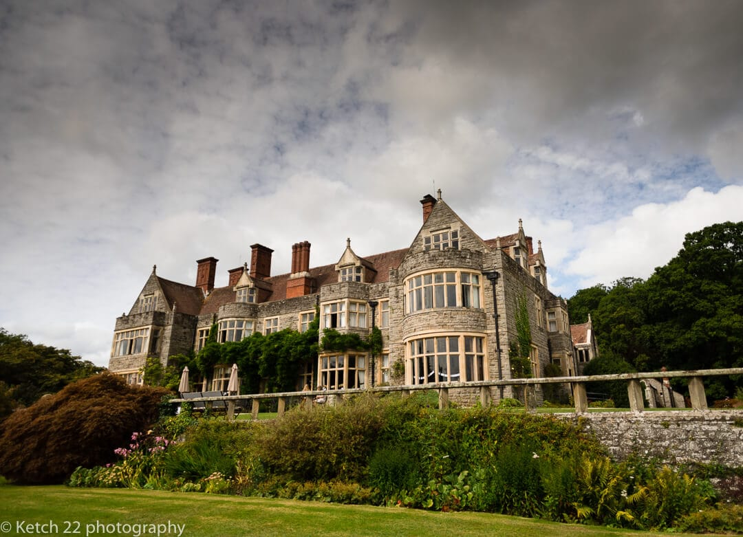 View of Whitney Court wedding venue in Herefordshire
