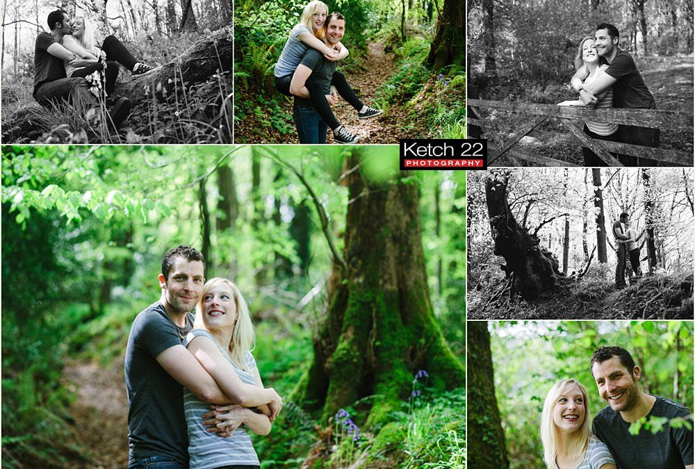 Pre Wedding photo shoot Forest of Dean