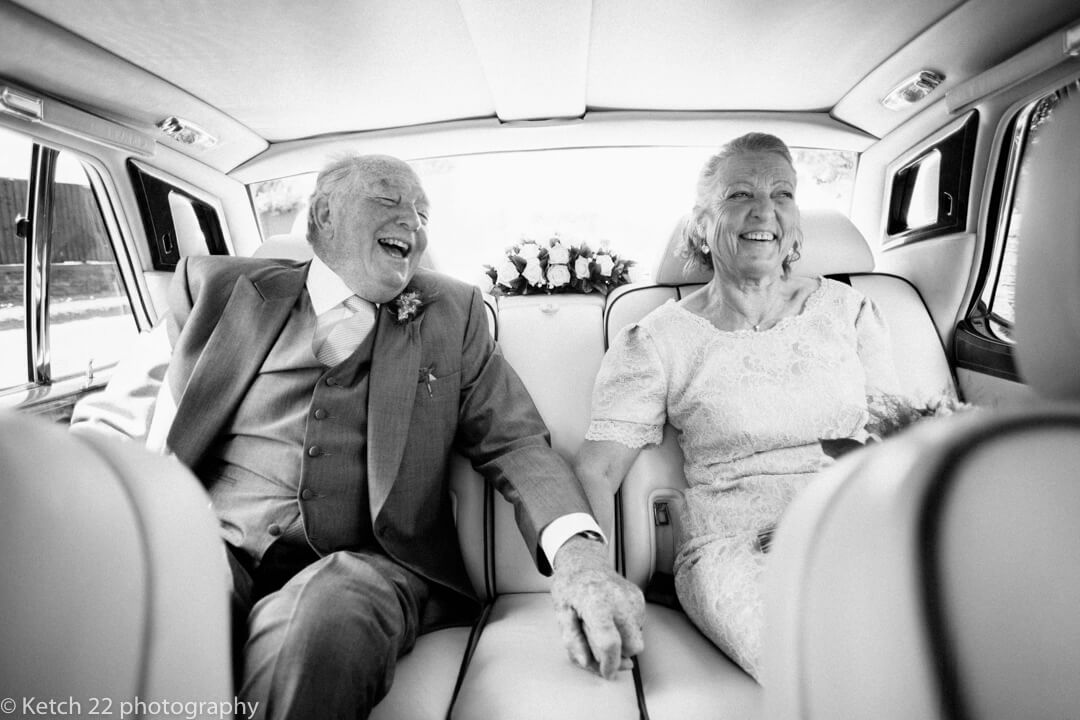 Old age pensioners get married