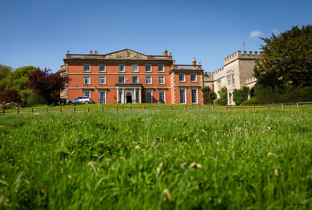 Homme House wedding venue in Herefordshire