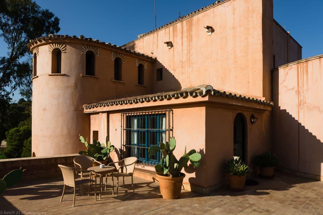 Guest acommodation at Castillo de Santa Catallina
