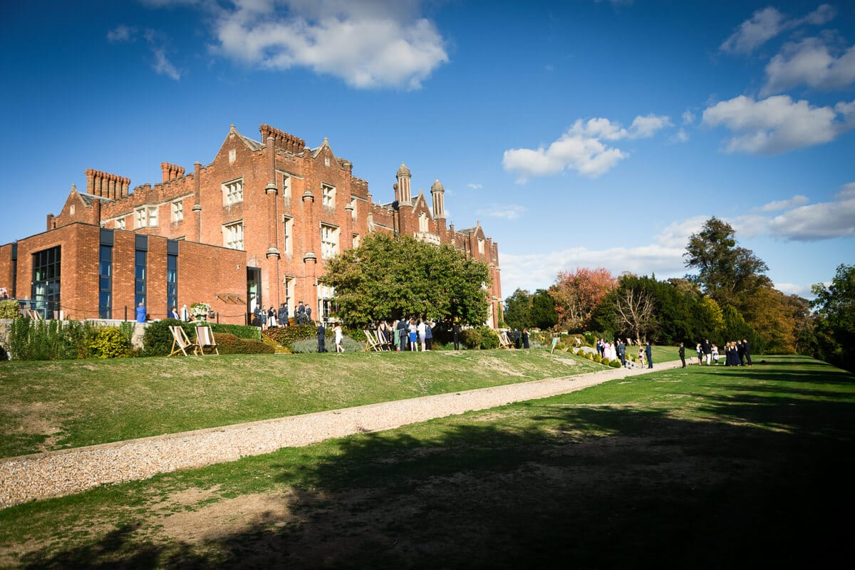 Overall view of De Vere Latimer Estae wedding venue