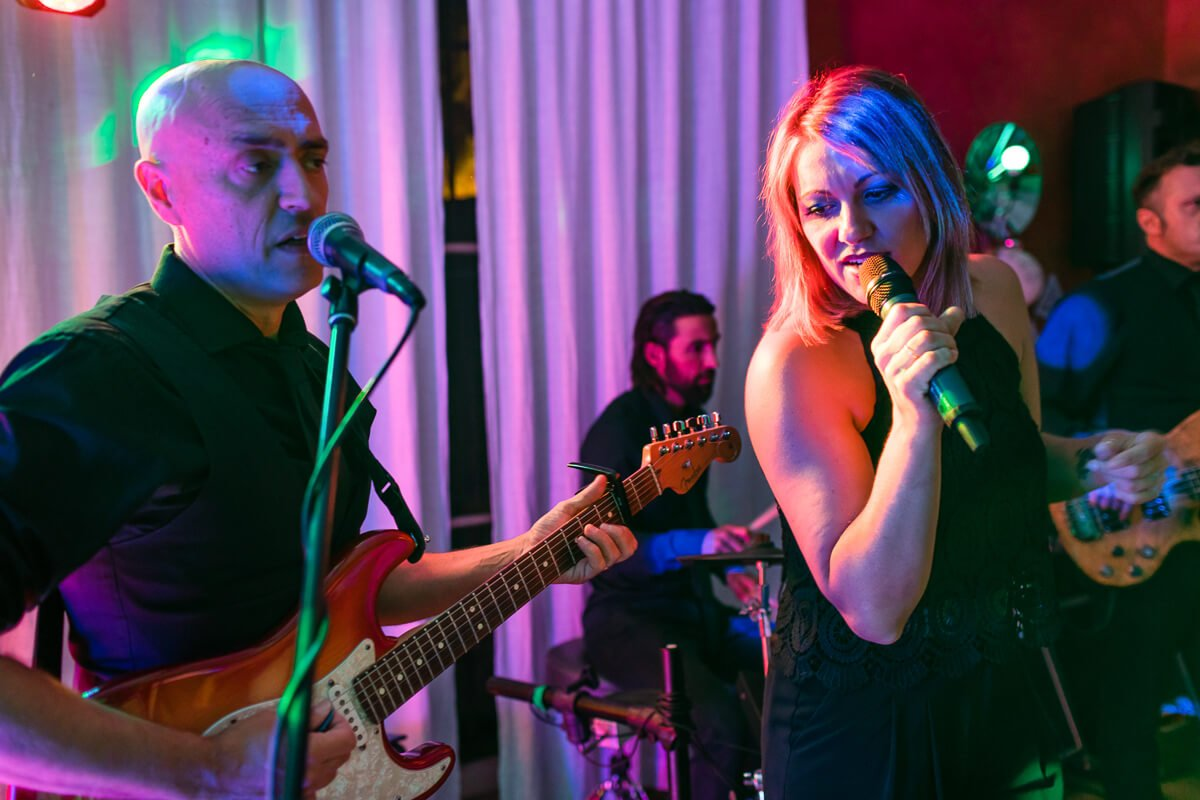 Live wedding band Malaga Spain